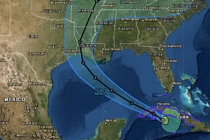 Storm Updates: Laura Is Predicted To Be Category 2 Hurricane In Gulf; Marco F...