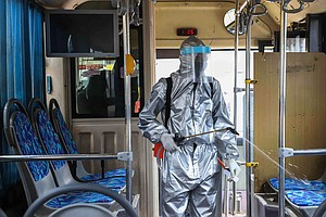 Coronavirus FAQ: Is It Safe To Get On The Bus (Or Subway)?