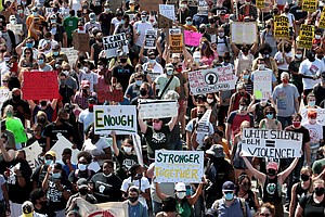 Americans Increasingly Polarized When It Comes To Racial Justice Protests, Po...