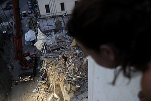 'There's No Sign Of Life.' Rescue Team In Beirut Ends Search For Possible Sur...