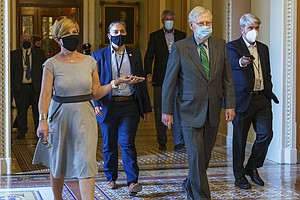 McConnell Proposes Pandemic Relief Bill, Democrats Quickly Dismiss It As 'Ema...