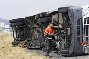 Winds Up To 99 MPH Hit Utah, Skittering Semis And Shuttering Capitol