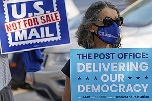 Postal Service, Under Political Spotlight, Preps For Surge In Election Mail