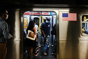New York City Public Transit Riders Who Don't Mask Up Will Face Fines Startin...