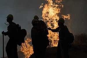 Wildfires Latest: Helpful Weather; Oregon Official Warns Of 'Mass Fatality In...