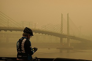'It's A Bit Surreal': Oregon's Air Quality Suffers As Fires Complicate COVID-...