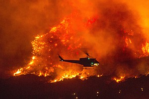 Photo for California Girds For Heat, Wind And Risk Of New Wildfires