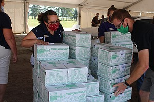 In Rural Nebraska, Combating Hunger From The Pandemic Is A Community Effort