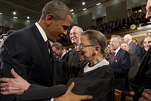In A Tribute To Justice Ginsburg, Obama Calls On Senate To Delay Naming A Suc...