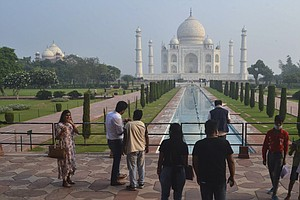 Taj Mahal Reopens In India For 1st Time In 6 Months