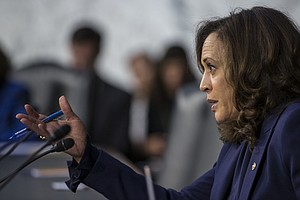A Candidate, Not A Prosecutor: Harris' Role In Upcoming Supreme Court Hearings