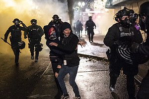 Police Declare 'Riot' In Portland, Ore. After Breonna Taylor Decision