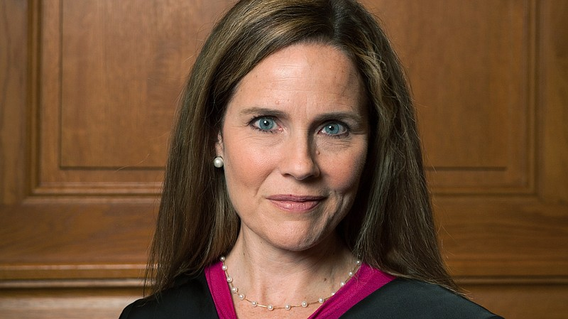 Judge Amy Coney Barrett, who  is expected to be President Trump's nominee to ...
