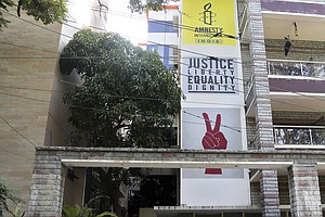 Amnesty International Halts Work In India, Citing 'Witch-Hunt' By Government