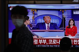 Reaction To Trump's Infection: Sympathy In South Korea, Some Schadenfreude In...