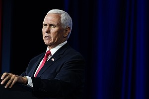 Pence Working From Home For Now But Plans To Travel On Monday