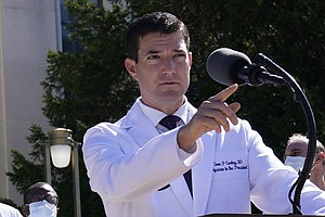 Who Is Sean Conley? White House Physician To President Trump