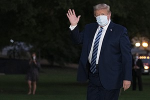 Not 'Out Of The Woods Yet': Trump's Health Remains At Risk, Doctors Say