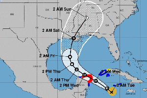 Hurricane Delta Becomes A Category 4 Storm As Winds Reach 140 MPH