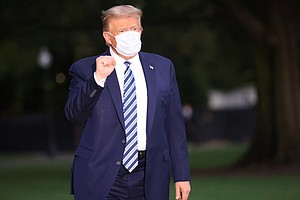 White House Physician Expects Trump's 'Safe Return To Public Engagements' Sat...
