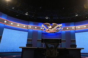 Thursday's Presidential Debate Canceled After Spat Over Coronavirus Safety Co...
