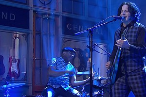 Jack White Gives A Thrilling Performance On 'SNL' — On 2 Days' Notice