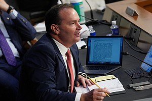 Sen. Mike Lee, Recently Infected With Coronavirus, Attends Confirmation Hearing