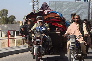 Tens Of Thousands Flee Latest Taliban Offensive, And Afghan Civilian Casualti...