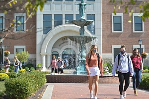 Despite Strains, Small Colleges Find Advantages In Dealing With COVID-19 On C...
