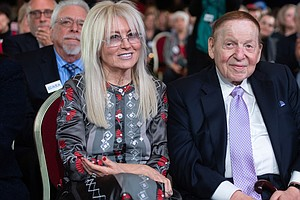 Adelsons Pump $75 Million Into Pro-Trump Super PAC In Election's Final Stretch
