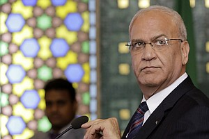 Longtime Palestinian Negotiator Saeb Erekat Dies Of Complications From COVID-19