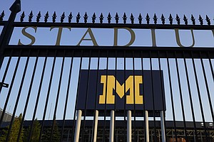 U. Of Michigan Students Under Stay-In-Place Order, But Football Can Still Kic...