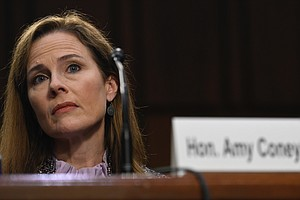 Amy Coney Barrett Moves A Step Closer To Confirmation After Judiciary Committ...