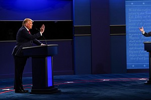 Trump And Biden Had A Real Debate, And 4 Other Takeaways