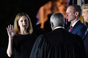 Amy Coney Barrett Confirmed To Supreme Court, Takes Constitutional Oath