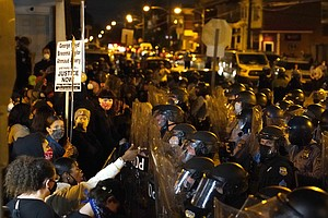 Philadelphia Issues Curfew As It Braces For More Protests In Walter Wallace S...