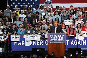 Hoping To Replicate 2016 Win, Trump Will Make Late Trip To Grand Rapids