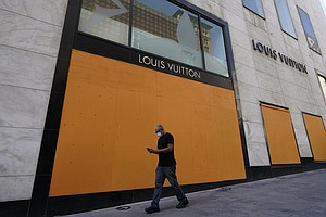 A Sign Of The Times: Across U.S., City Storefronts Boarded Up Ahead Of Election