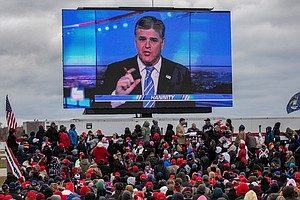Down In The Polls, Trump Seeks Familiar Embrace of Conservative Media
