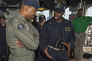 Why Does The Navy Have So Few Black Admirals? Some Blame A Culture Of Discrim...