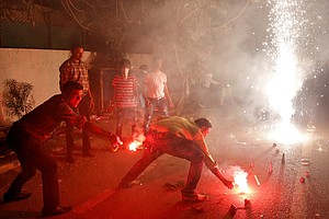Fireworks Of Diwali Spark Worries About Pollution ... And Coronavirus Cases