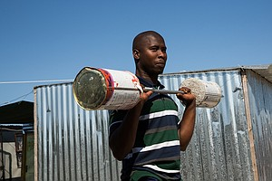 PHOTOS: Why South Africans Built An Illegal Settlement Called Covid