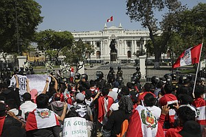 Peru's Interim President Resigns After A Tumultuous Week Of Protests