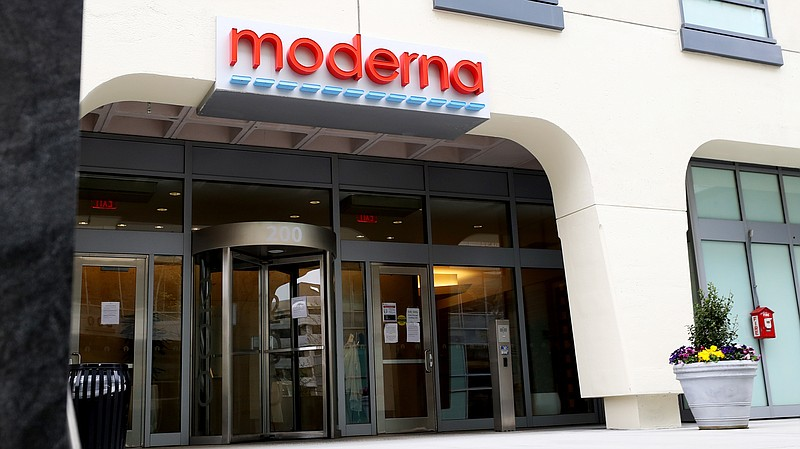 Clinical data for Moderna's COVID-19 vaccine showed it was nearly 95% effecti...