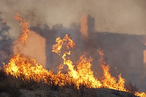 Rebuilding After A Wildfire? Most States Don't Require Fire-Resistant Materials