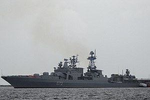 U.S., Russian Navies Involved In Brief Confrontation At Sea