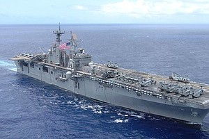 Navy Will Dismantle USS Bonhomme Richard