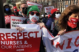 Battle-Weary Nurses Wonder If New York Hospitals Can Handle Another Coronavir...