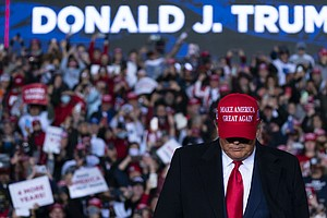 With Georgia Rally, Trump Tests Role As Asset Or Liability For Senate GOP Con...