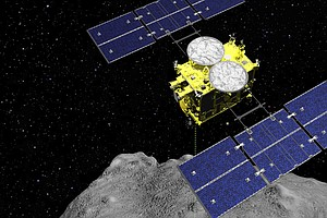 Japanese Capsule Containing Bits Of An Asteroid Returns To Earth